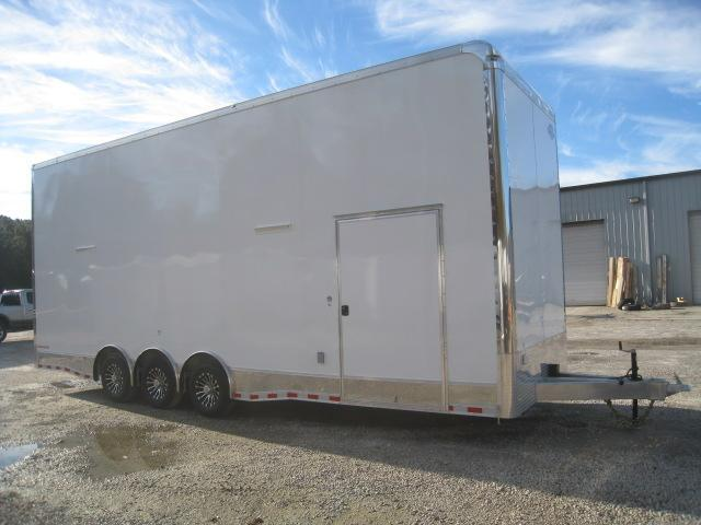 2019 Cargo Mate Aluminum Eliminator 28' Stacker