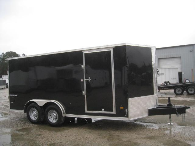2019 Pace American Cargosport 7 x 16 Heavy Duty Vnose Enclosed Cargo Trailer in Lumberton, NC