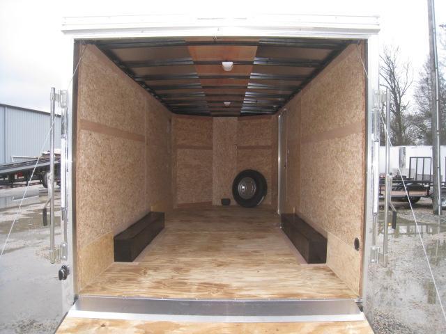 2019 Pace American Cargosport 7 x 16 Heavy Duty Vnose Enclosed Cargo Trailer