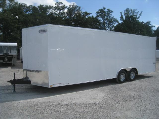 2019 Cargo Express XLW 8.5x24 Vnose with 7' Inside Height