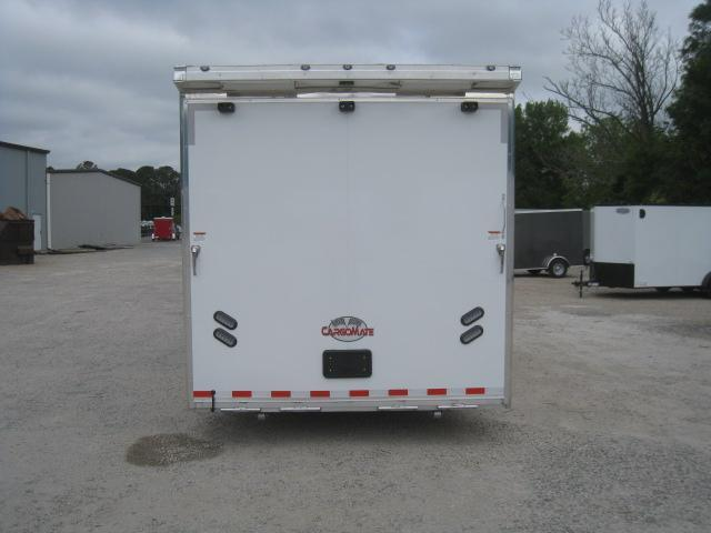 2019 Cargo Mate Aluminum Eliminator 34 Car / Racing Trailer