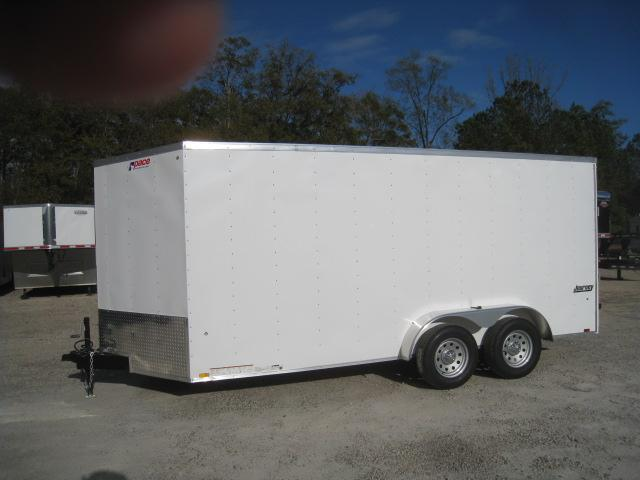 2019 Pace American Journey 7 x 16 Vnose Enclosed Cargo Trailer