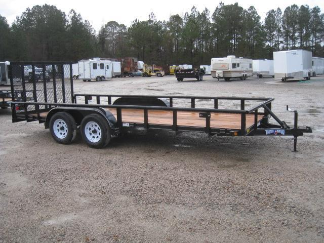 2019 Texas Bragg Trailers 18P Utility Trailer with Heavy Duty Rear Gate