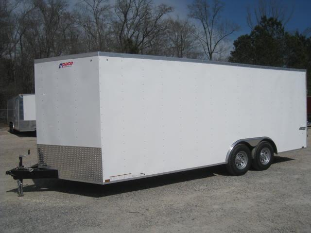 2018 Pace American Journey 8.5x24 Car / Racing Trailer with 5200lb Axles