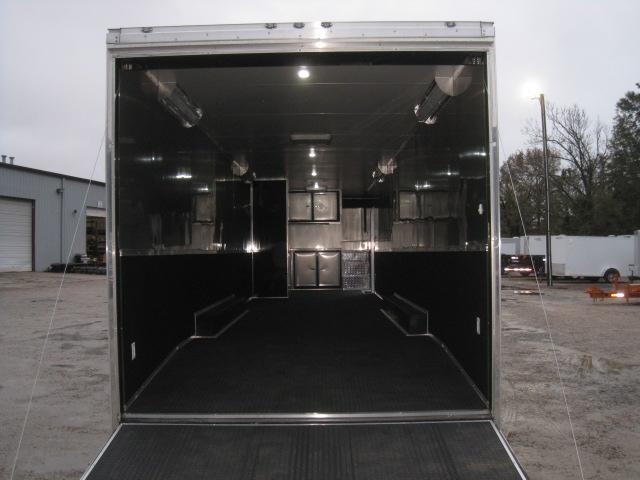 2018 Cargo Mate Eliminator 46 Gooseneck Loaded in Black