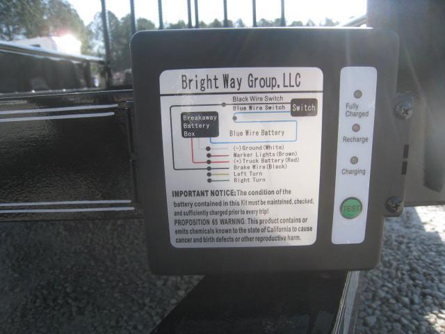 2019 Texas Bragg Trailers 12P Tandem Axle Utility Trailer