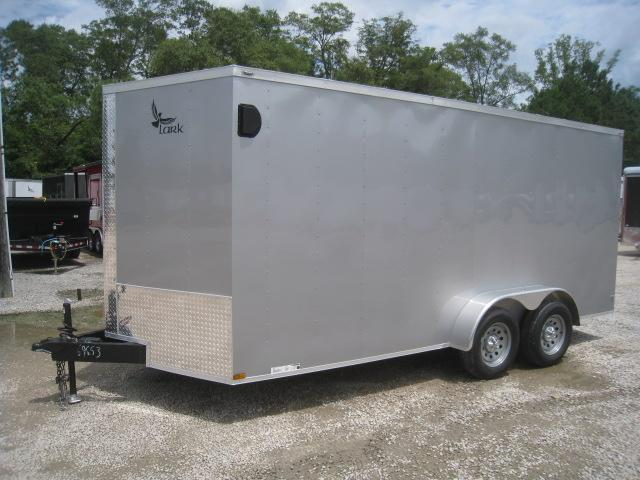 2020 Lark 7 X 16 Vnose Enclosed Cargo Trailer
