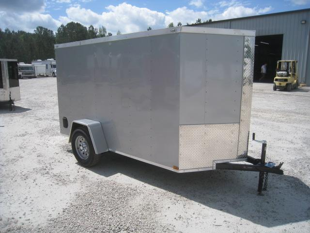 2019 Lark 5 X 10 Vnose Enclosed Cargo Trailer in Brunswick, NC