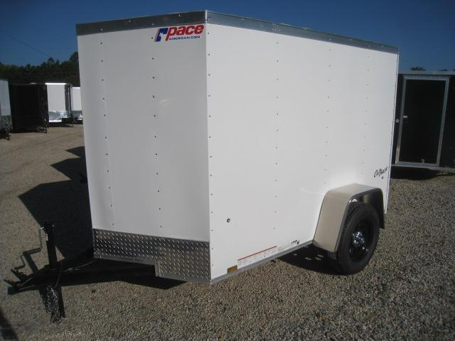 2019 Pace American Outback 5x8 Vnose Enclosed Cargo Trailer