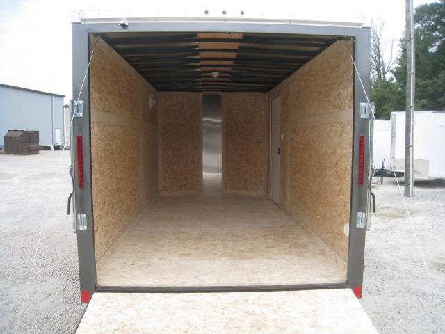 2019 Haulmark Transport 7 x 14 Vnose Enclosed Cargo Trailer