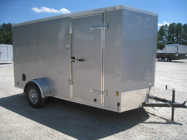 2020 Continental Cargo Sunshine 6 x 12 Vnose with Ramp Door in Lumberton, NC