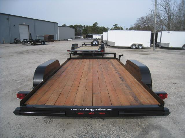 2019 Texas Bragg Trailers LCH 16' Open Car / Racing Trailer