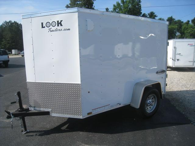 2019 Look Trailers Element 5x8 Vnose Enclosed Cargo Trailer