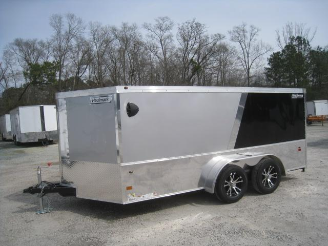 2019 Haulmark Vnose Low Hauler 7 x 14 Motorcycle Trailer