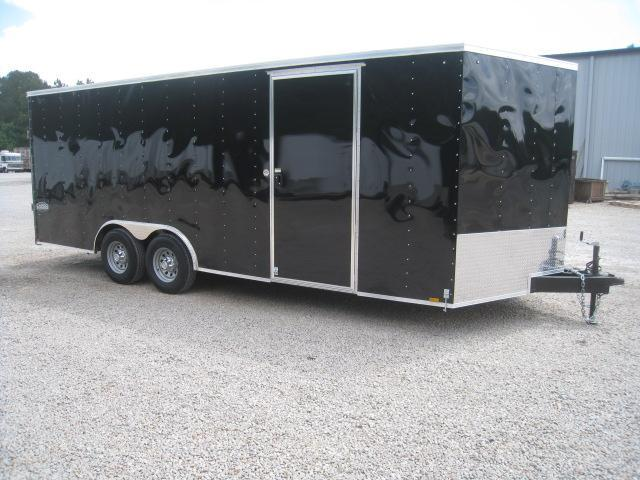 2019 Cargo Express XLW 8.5X20 Vnose Car / Racing Trailer with 5200lb Axles