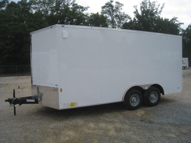 2019 Continental Cargo Sunshine 8.5x16 Vnose with 5200LB Axles