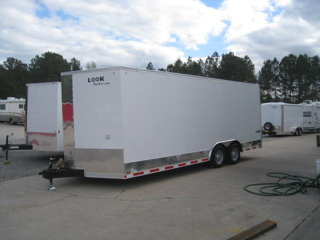 2019 Look Trailers Vision 8.5x20 Car / Racing Trailer Loaded