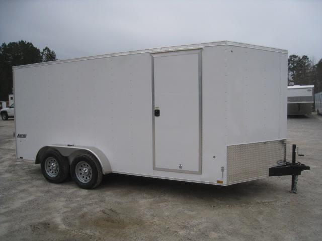 2020 Pace American Journey 7x16 Vnose Enclosed Cargo Trailer