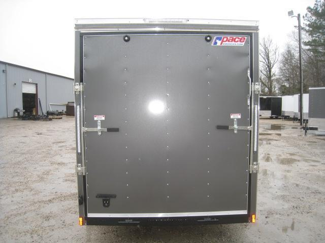 """2019 Pace American Journey 6 x 12 Vnose Enclosed Cargo Trailer with 6' 6"""" Inside Height"""