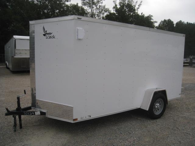 2020 Lark Economy 6 x 12 Vnose Enclosed Cargo Trailer