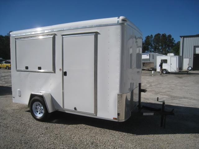 2019 Lark 6 X 12 Vnose Vending / Concession Trailer