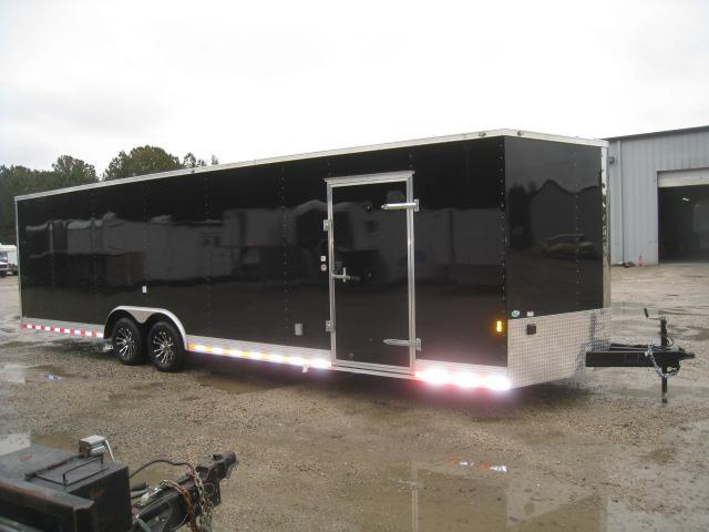 2019 Continental Cargo Sunshine 28' Car / Racing Trailer in Black
