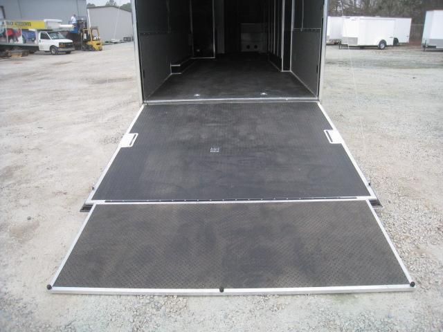 2018 Cargo Mate Eliminator 44' Race Trailer with Full Bath Package
