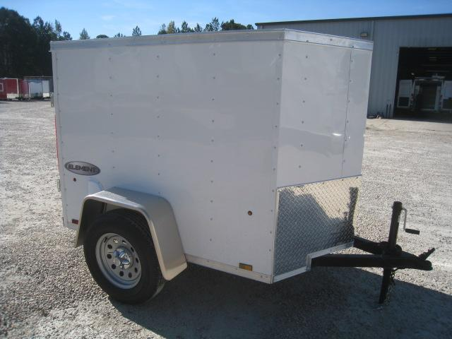 2019 Pace American Journey 4 x 6 Vnose Enclosed Cargo Trailer