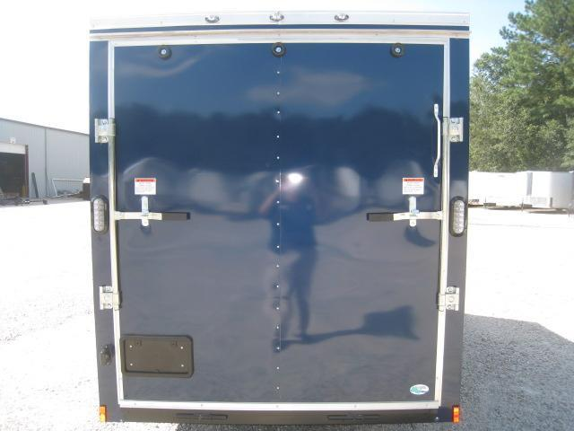 2019 Continental Cargo Sunshine 6x12 Vnose Blue Enclosed Cargo Trailer