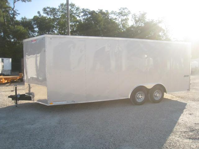 2019 Pace American Journey 8.5x20 Vnose Car / Racing Trailer with 5200lb Axles