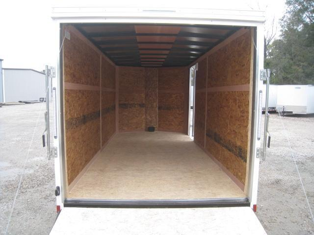 2019 Pace American Outback Economy 7 x 16  Enclosed Cargo Trailer