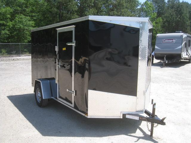 2019 Lark 6 X 12 Vnose Enclosed Cargo Trailer in Trenton, NC