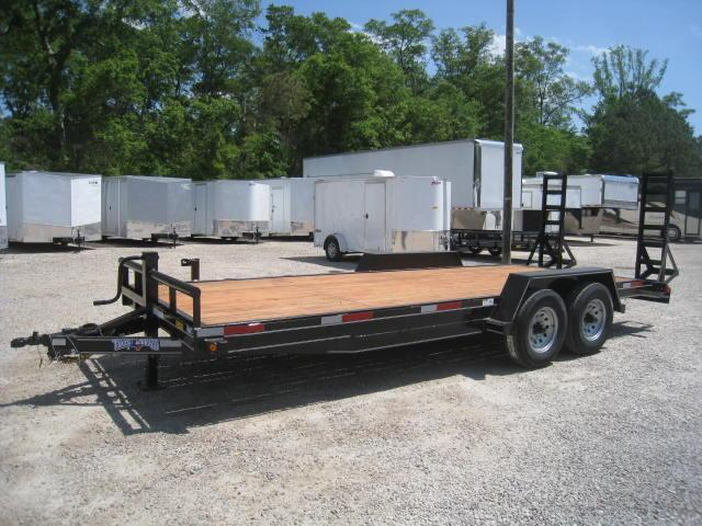2017 Texas Bragg Trailers 18+2 LEO Equipment Trailer