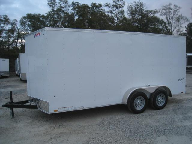2019 Pace American Outback 7 x 16 Economy Enclosed Cargo Trailer