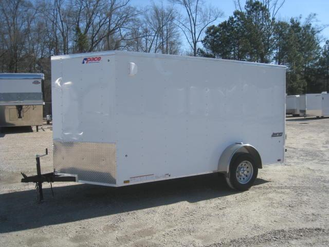 2019 Pace American Journey 6x12 Enclosed Cargo Trailer