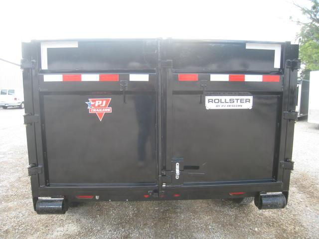 "2018 PJ DR 14 X 83"" Rollster Roll Off Dump Trailer"