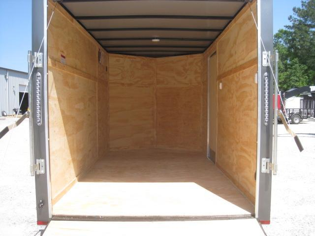 2019 Lark 6 X 12 Vnose Enclosed Cargo Trailer