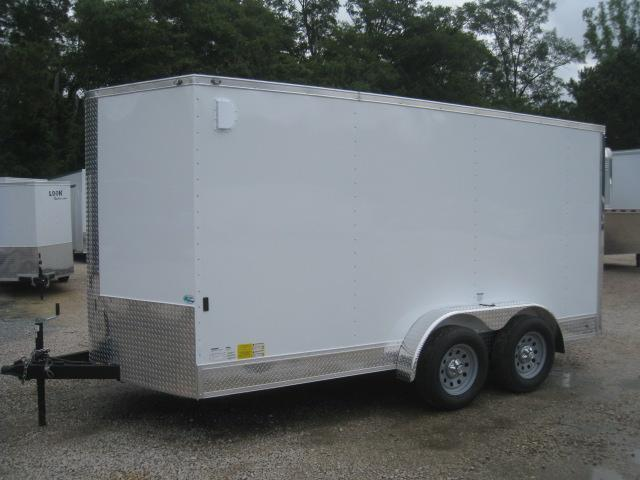 2019 Continental Cargo Sunshine 7x14 Vnose with Appearance Package
