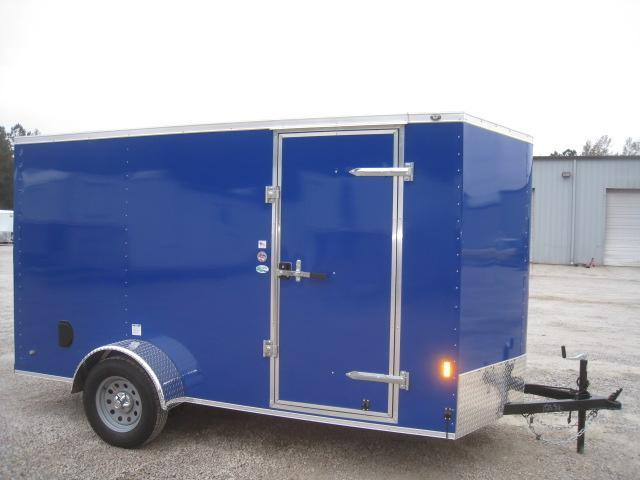 2019 Continental Cargo Sunshine 6 x 12 Vnose Enclosed Cargo Trailer