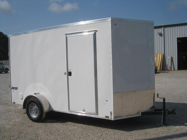 "2019 Pace American Journey 6x12 Vnose with 12"" Extra Height"