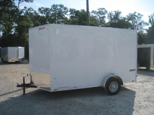 """2019 Pace American Journey 6x12 Vnose with 12"""" Extra Height"""