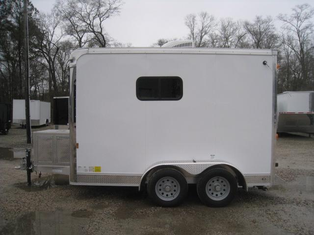 2018 Continental Cargo 7 X 12 Aluminum Splicing Trailer Enclosed Cargo Trailer