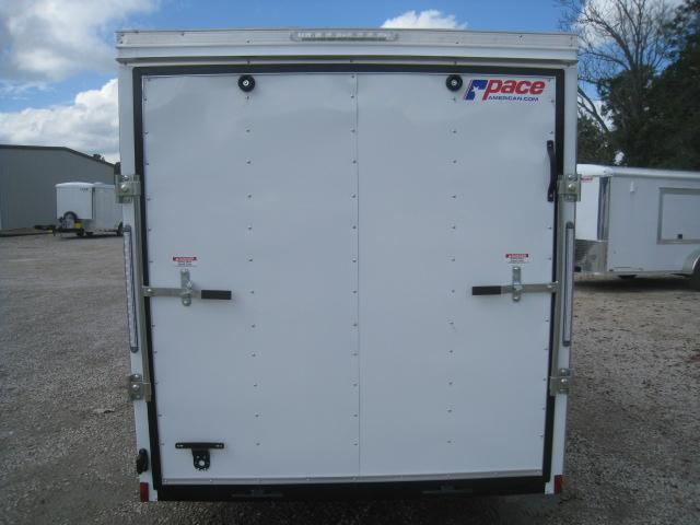2019 Pace American Journey 6x14 Vnose Enclosed Cargo Trailer