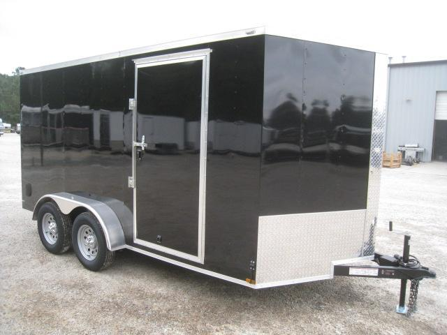 2019 Lark 7 X 14 Vnose Enclosed Cargo Trailer in Pinebluff, NC