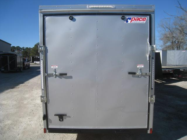 """2019 Pace American Journey 6 x 14 Vnose 6' 6"""" Inside Enclosed Cargo Trailer"""