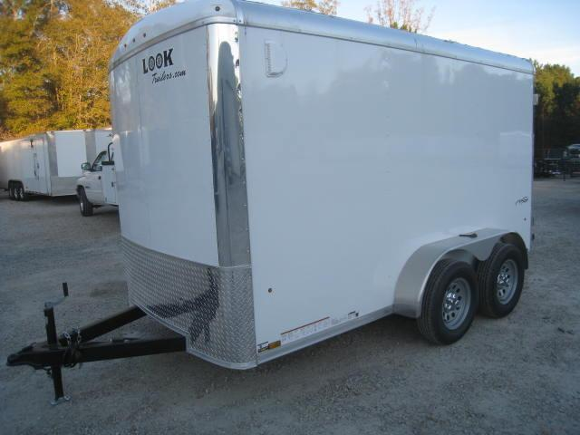 2018 Look Trailers VRLC6X12TE2 6X12 Enclosed Cargo Trailer