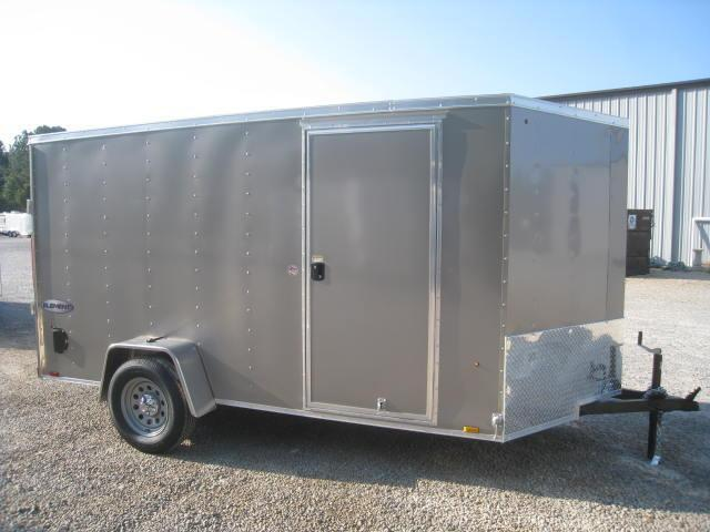 2018 Look Element 6 X 12 Vnose Enclosed Cargo Trailer