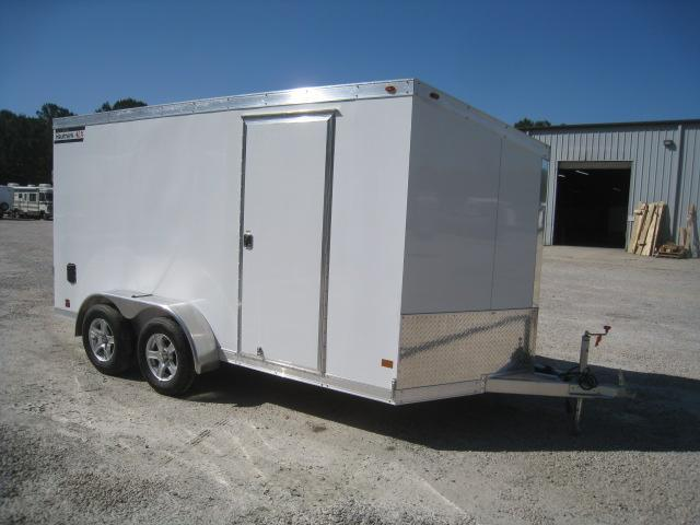 2019 Haulmark Aluminum 7 x 14 Vnose Enclosed Cargo Trailer in Brunswick, NC