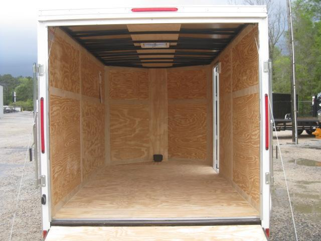 2019 Look Trailers Element 7x14 Enclosed Cargo Trailer