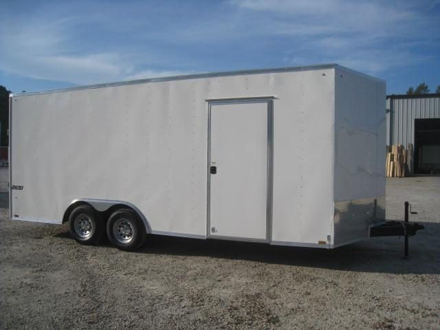 "2019 Pace American Journey 8.5x20 Vnose 7'6"" Inside Height Car / Racing Trailer"